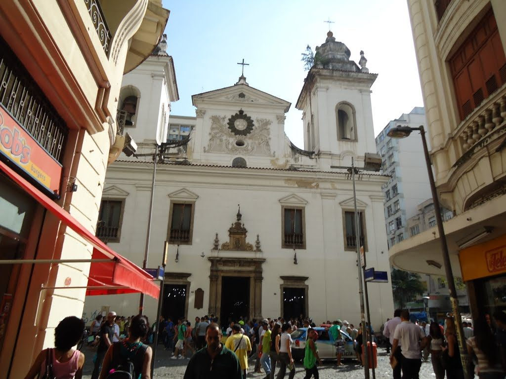 Church of Our Lady of the Rosary and Saint Benedict in downtown Rio