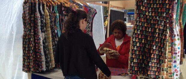 Devas booth at Rio Eco Sol Fair