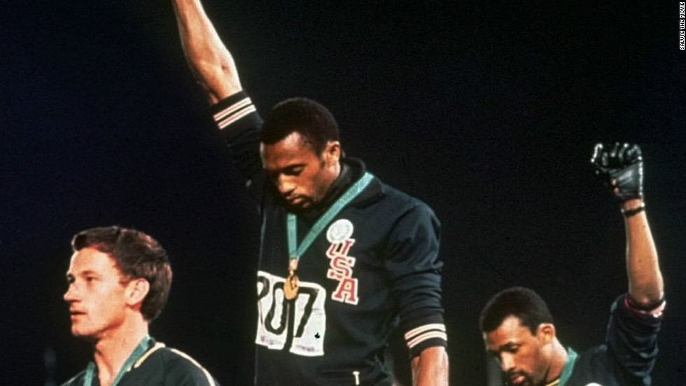 Black Power Salute at the 1968 Mexico City Olympics