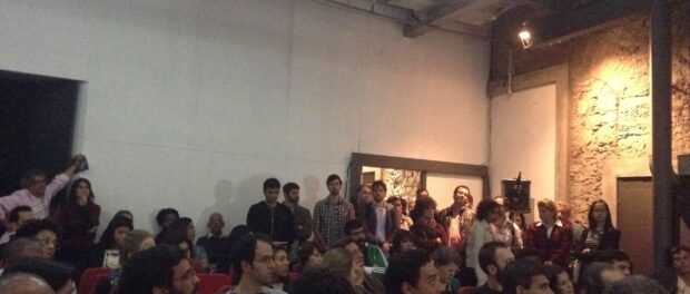 The audience at the Guanabara Bay discussion