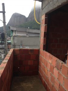 The veranda that will be off the back end of Diogo's home looking over the Tijuca forest.