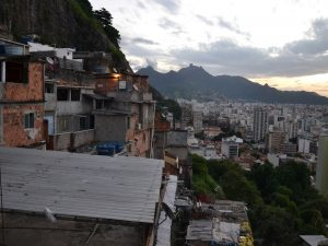 View over Rio's North Zone from the Complexo do Turano