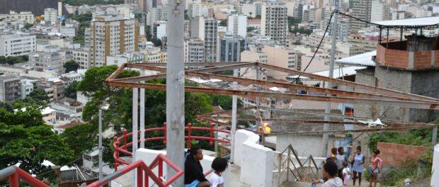 View of Rio's North Zone from the Morro do Salgueiro
