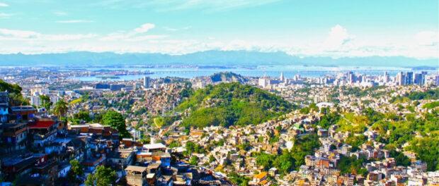 Prazeres favela and the Port Zone. Photo by Julie Ruvolo