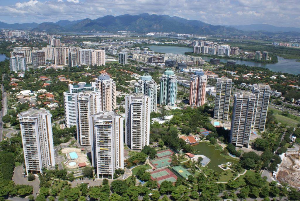 Gated condominiums in Barra da Tijuca