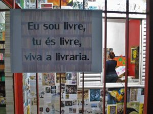 FLICC at the Paulo Freire Community Library in Chapadão. Photo by Diogo Bardu