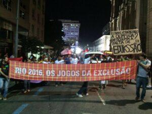 Photo from the Rio 2016 - Os Jogos de Exclusão Facebook page