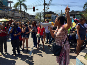 TáTudoErrado protest event in Complexo do Alemão, August 2015