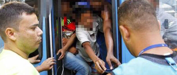 Reports of black youths being arbitrarily detained on public buses in the South Zone led to significant backlash on social media.
