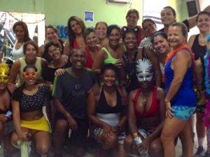 Flavio Moraes' dance class in Rio das Pedras