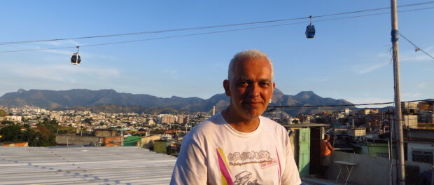 Alan Brum Pinheiros, co-founder and general coordinator of Instituto Raizes em Movimento