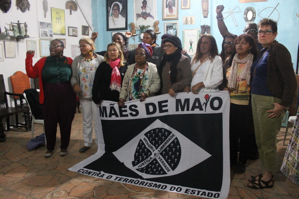 Black Lives Matter at the Candomblé spiritual center in Nova Iguaçu