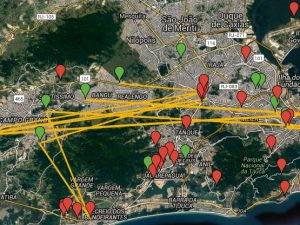 Pública's map of evictions and relocations