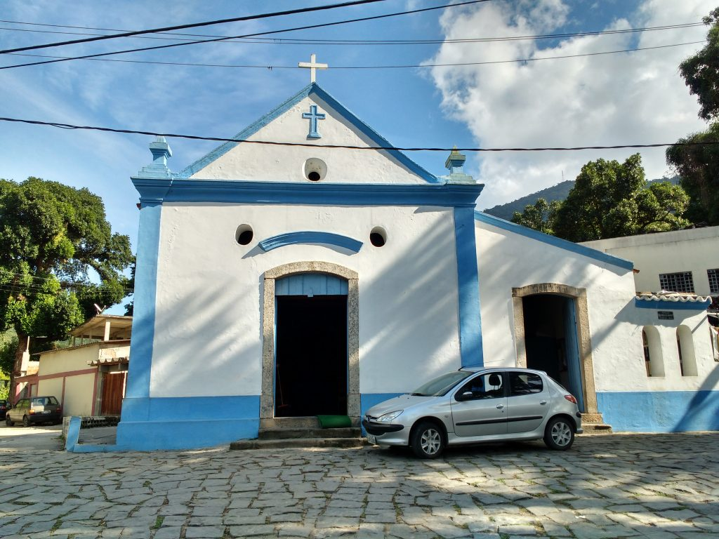 The São Gonçalo do Amarante Church was built by slaves in 1625.