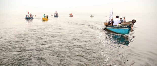 Guanabara Bay protest on July 3