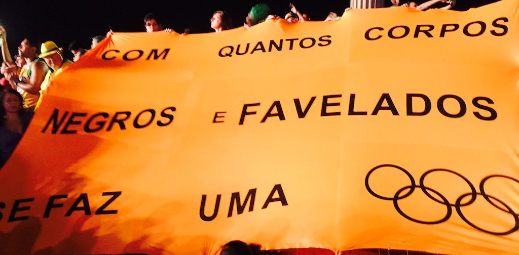 """How many black, favela bodies make an Olympics?"""