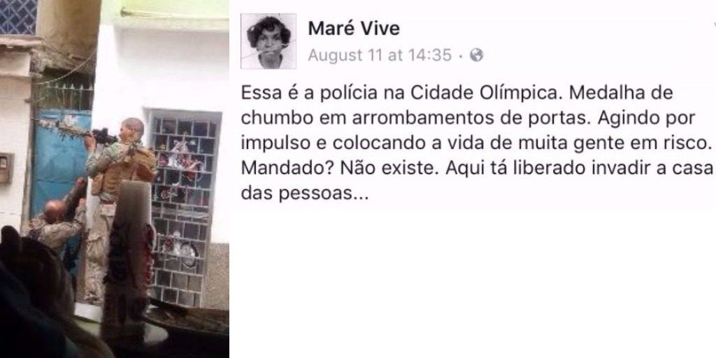 Mare Vive Facebook Post
