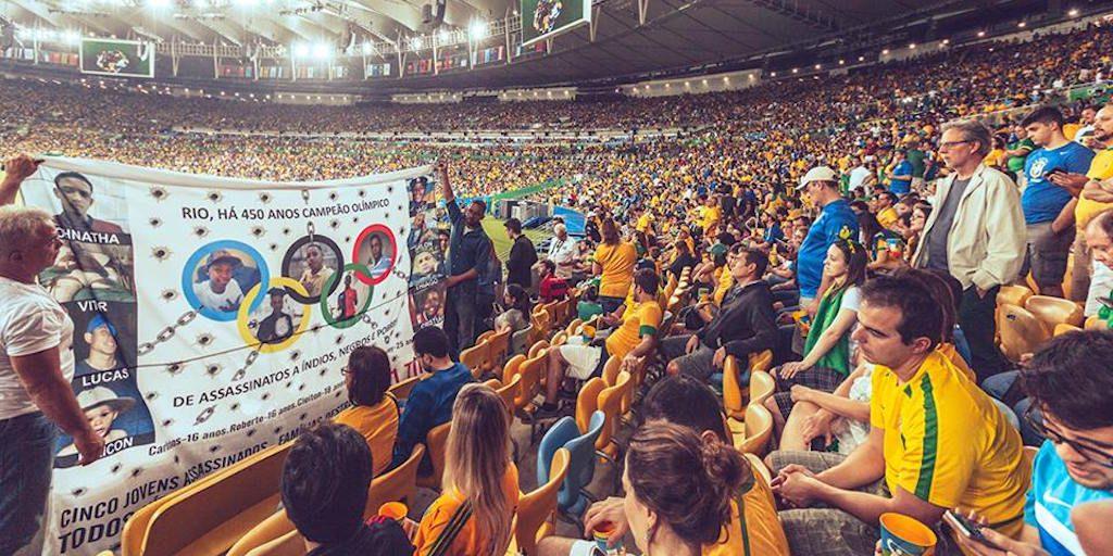 Photo by André Mantelli/Comitê Popular da Copa e Olimpíadas do Rio de Janeiro