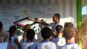 Primary school visit to Onda Verde