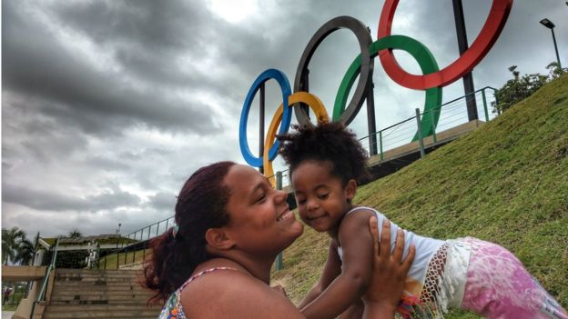 """To be honest, I don't care about the Olympics,"" says Thainá. Photo by Felipe Barcellos"