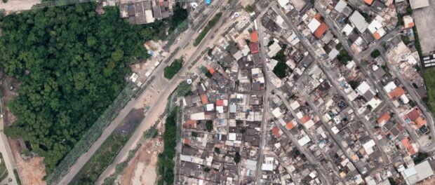 Asa Branca aerial view. Image from Google Maps