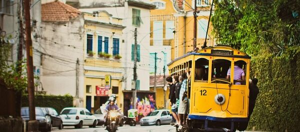 Original Santa Teresa trams were mainly used by residents