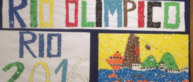 Olympic Art by Rio das Pedras students