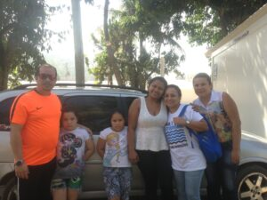 Family in Vila Autodromo