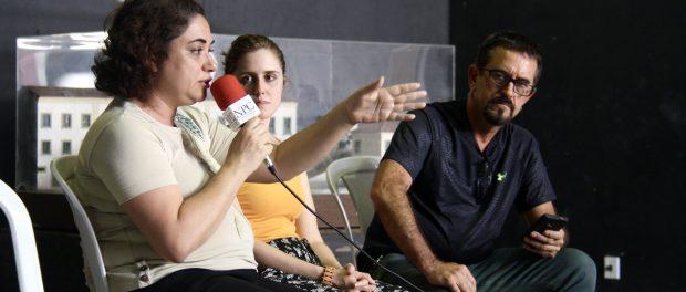Silvia da Costa, Carolina Vaz, Wladimir Aguiar. Photo by Natalie Southwick