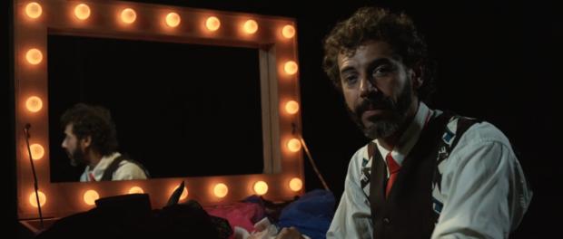 Vinicius, co-founder of Circo Crescer e Viver. Film still from Gira and the Circus of Life