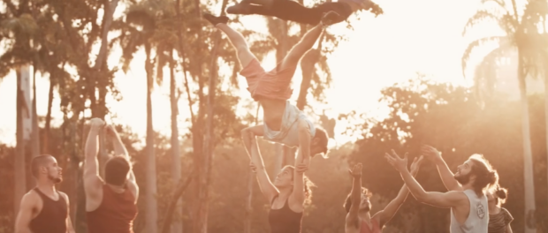Film still from Gira and the Circus of Life