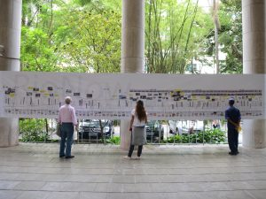 PUC timeline of urban transformations in Rio de Janeiro