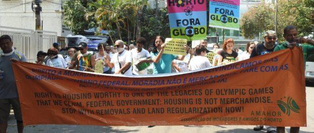Horto protest last Sunday