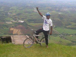 Cycling activist Carlos Leandro