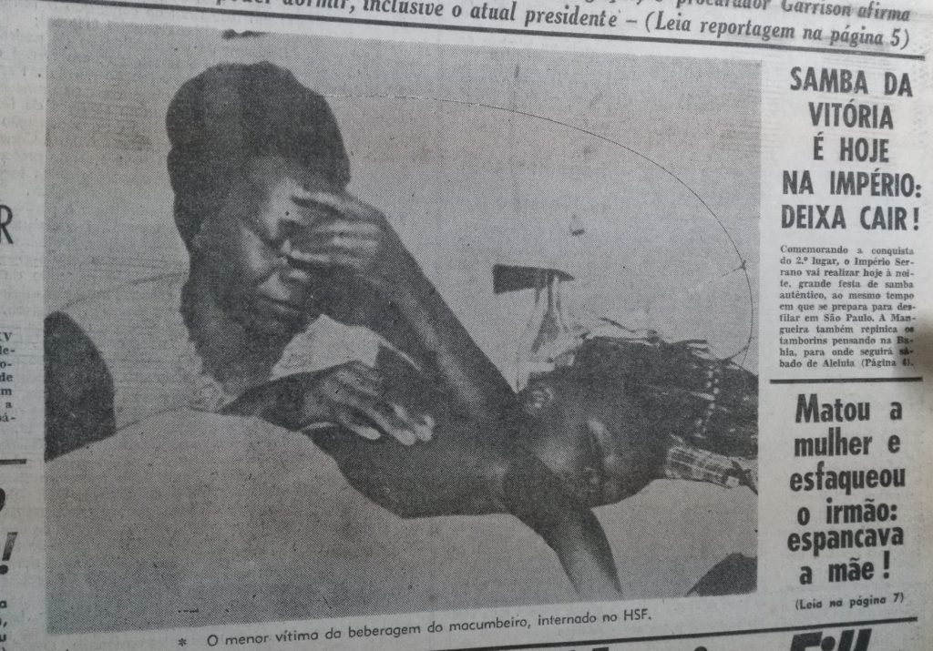 Press coverage of the Baixada focuses on violence and suffering