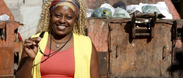 Cleusa Florença founded the Cleaning Patrol Project in Rio das Pedras