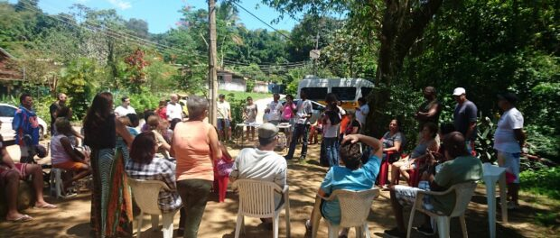Horto residents meeting