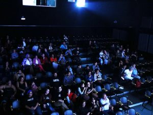Audience at the Images and Complexes Film Festival
