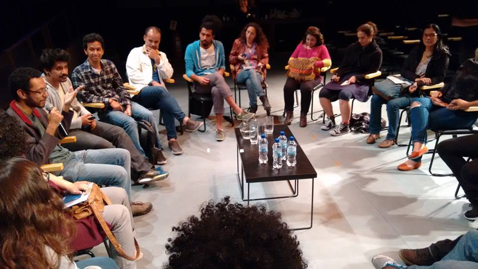 Discussion circle at the Images and Complexes Film Festival