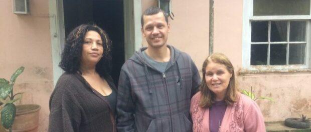 Eunice do Nascimento Rosa, Octávio Barros and Luci Rosa de Alcomtona