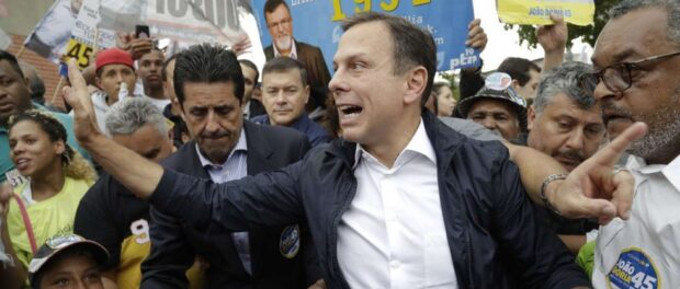 João Doria campaigns in São Paulo