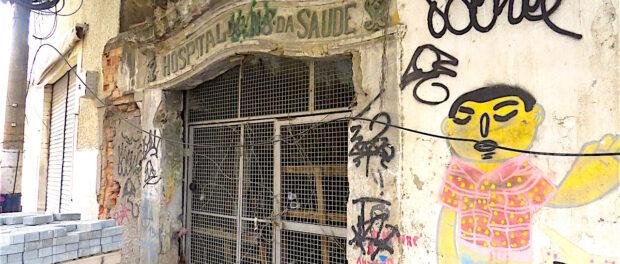 Historic site in disrepair in the Port Region