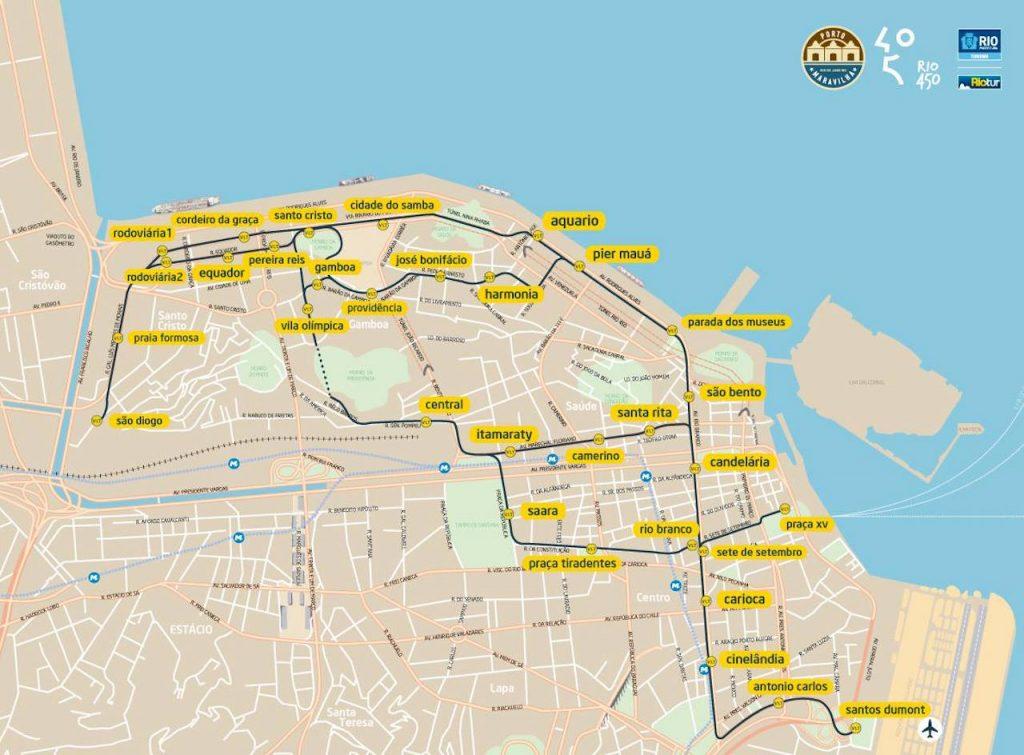 VLT map