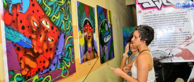 Exposição de graffiti