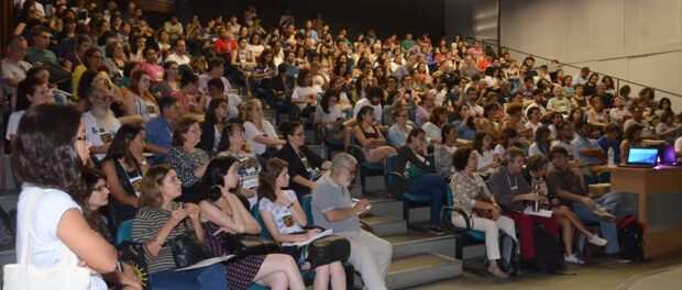 Audience at the closing of Urb Favelas conference