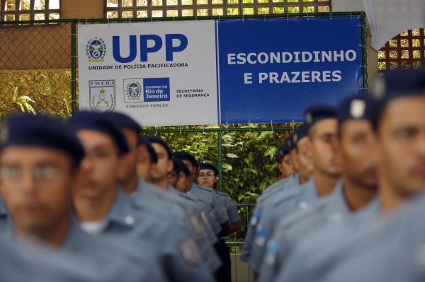 Military Police in Prazeres (UPP Prazeres/Facebook)