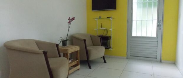 Lodging at Roupa Feliz hostel
