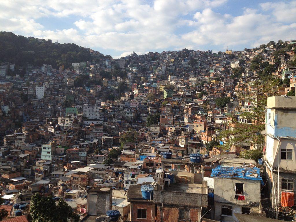 View from Roupa Feliz Hostel