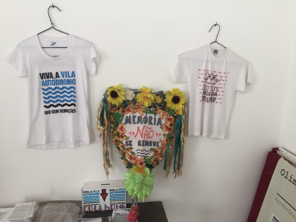 T-shirts are sold to fundraise for the Evictions Museum