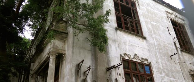Indigenous Museum left by the authorities to decay
